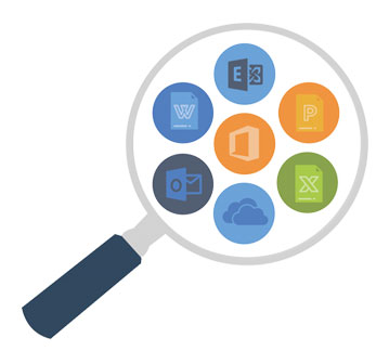 Search Office 365 icon