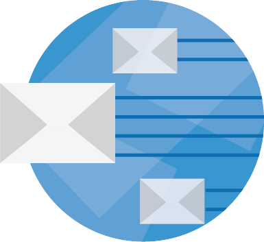 basic email hosting service icon