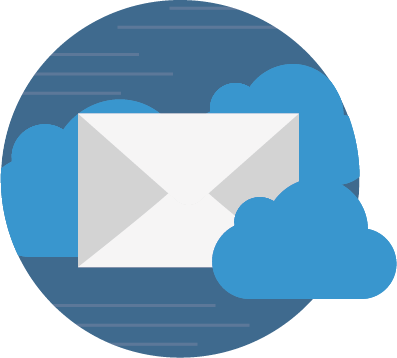 Office 365 email hosting service icon