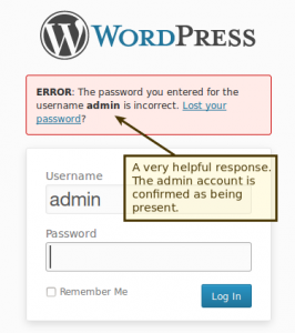 confirm valid users with the login form
